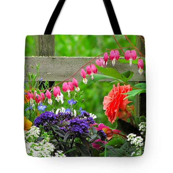 The Dance Of Spring Tote Bag by Sean Griffin