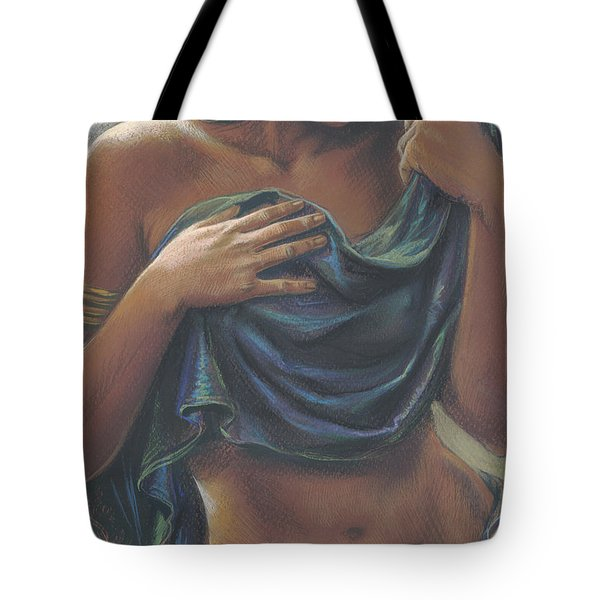 The Dark Dancer Crop Tote Bag by Zorina Baldescu