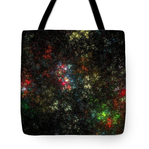 The Dark Side Of Monet Tote Bag by Peter R Nicholls