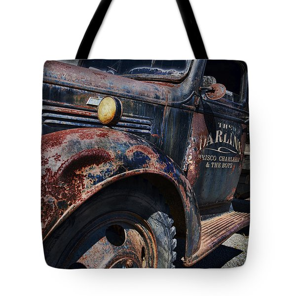 The Darlins Truck Tote Bag by David Arment