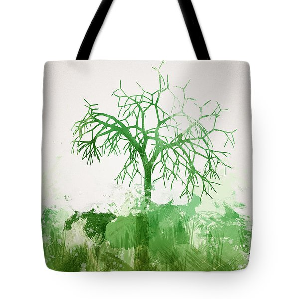 The Dead Tree Tote Bag by Aged Pixel
