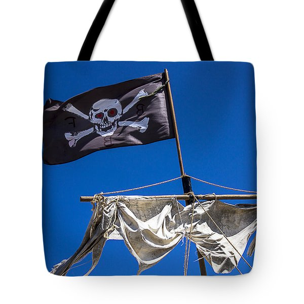 The Death Flag Tote Bag by Garry Gay