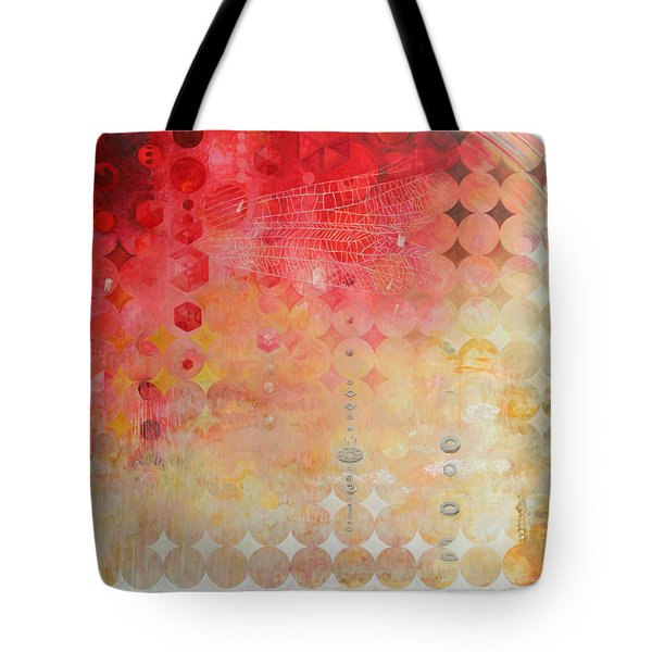 The Decay Of Starlight Tote Bag by Sandra Cohen