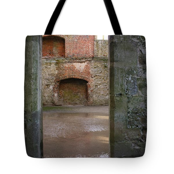 The Derelict Titchfield Abbey Hampshire Tote Bag by Terri Waters