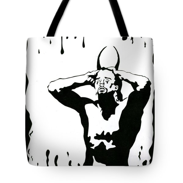 The Devil Cries Too Tote Bag by Kd Neeley