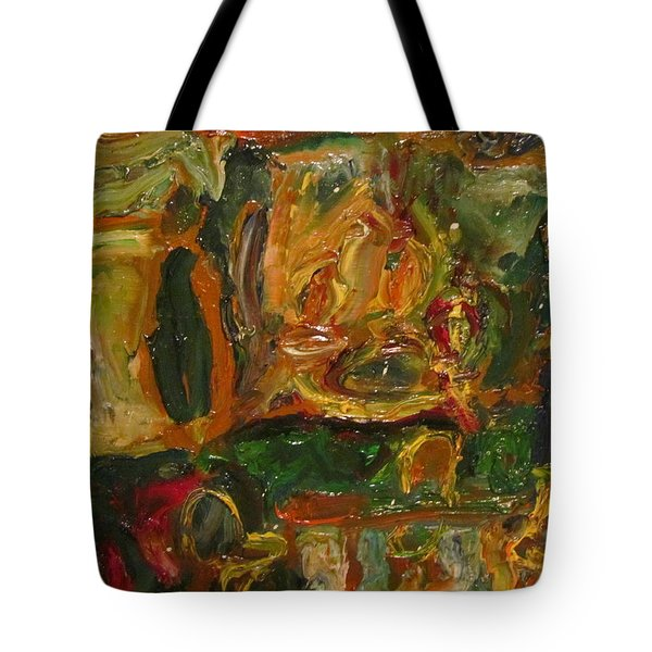 The Dining Room Tote Bag by Shea Holliman