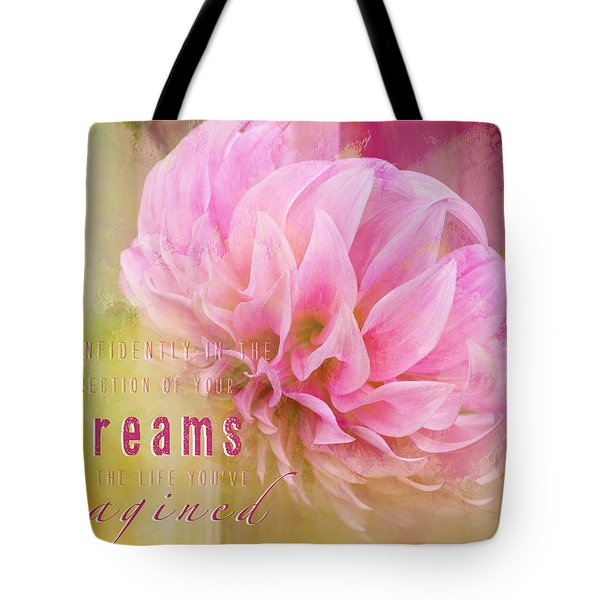 The Direction Of Your Dreams - Image Art Tote Bag by Jordan Blackstone