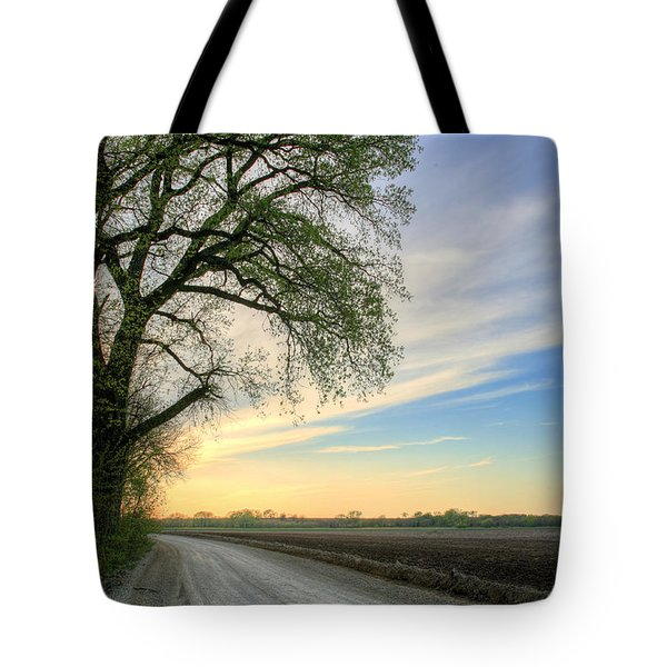 The Dirt Road Tote Bag by JC Findley