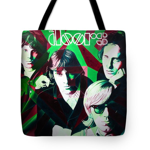 The Doors Tote Bag by Joshua Morton