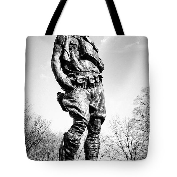 The Doughboy - Tribute to the American Expeditionary Forces of World War 1 Tote Bag by Gary Heller