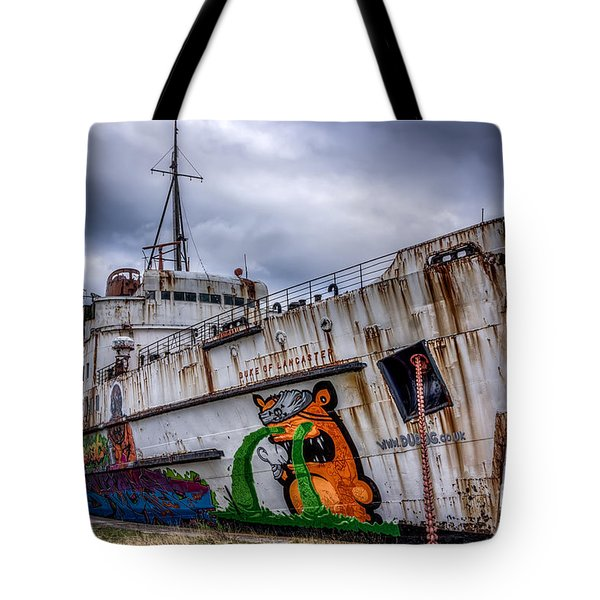 The Duke of Lancaster Tote Bag by Adrian Evans