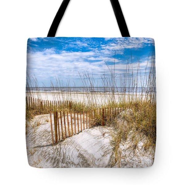 The Dunes Tote Bag by Debra and Dave Vanderlaan