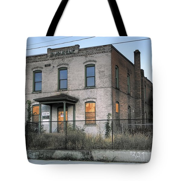 THE DUQUESNE BUILDING - SPOKANE WASHINGTON Tote Bag by Daniel Hagerman
