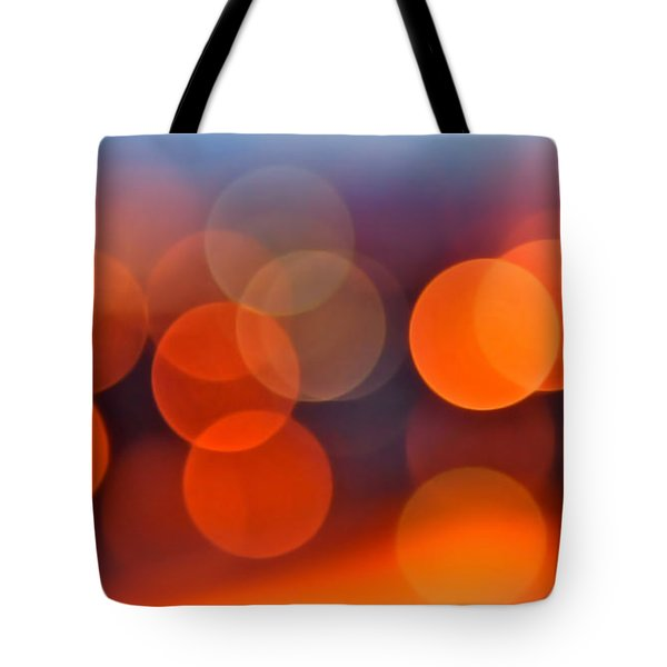 The Edge of Night Tote Bag by Rona Black