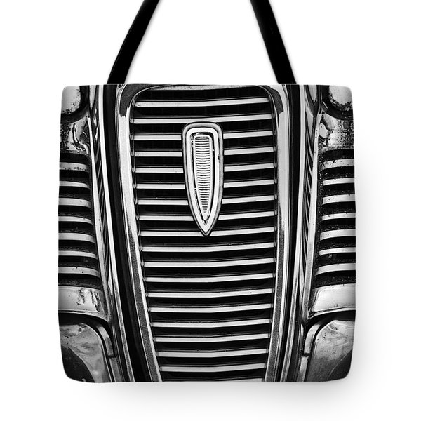 The Edsel Grill Tote Bag by Paul Mashburn