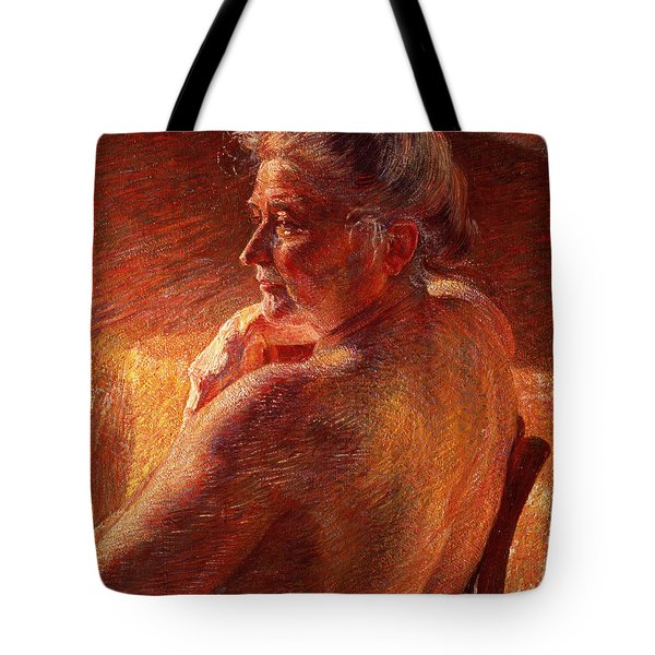 The Effect Of Sunlight Tote Bag by Umberto Boccioni