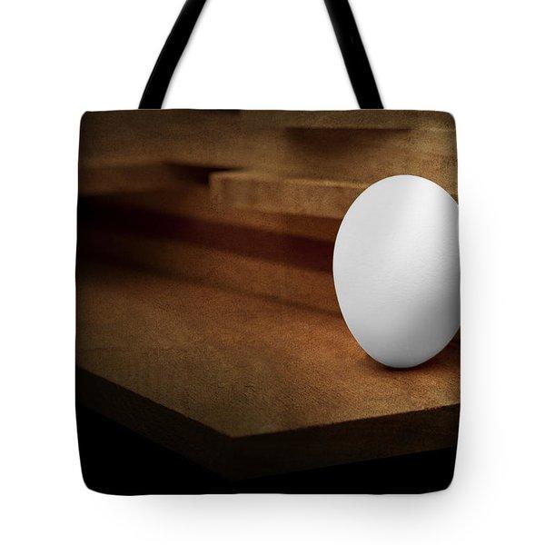 The Egg Tote Bag by Tom Mc Nemar