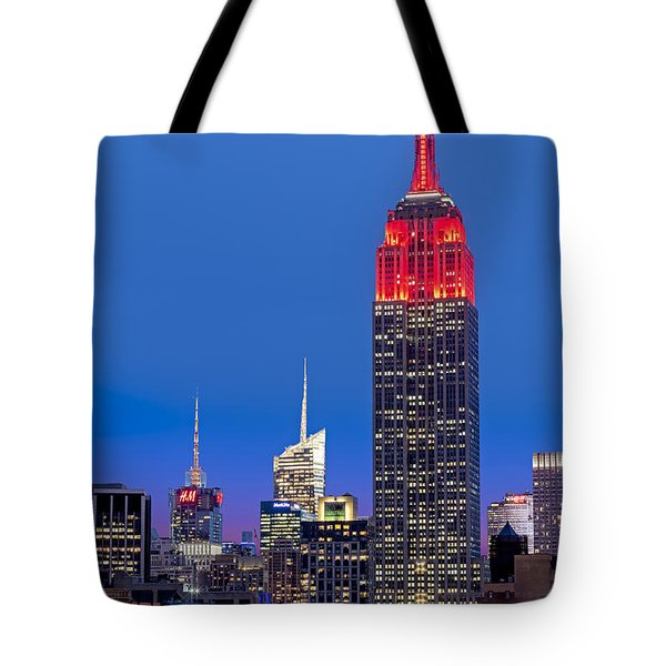 The Empire State Building Tote Bag by Susan Candelario
