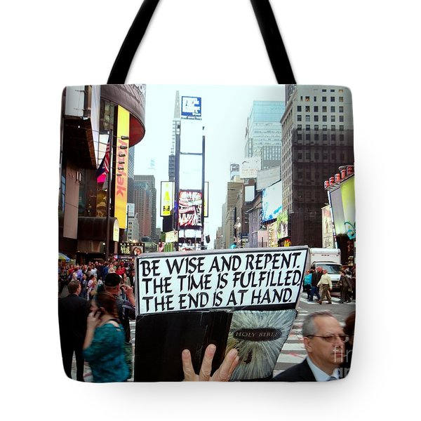 The End Is At Hand Tote Bag by Ed Weidman
