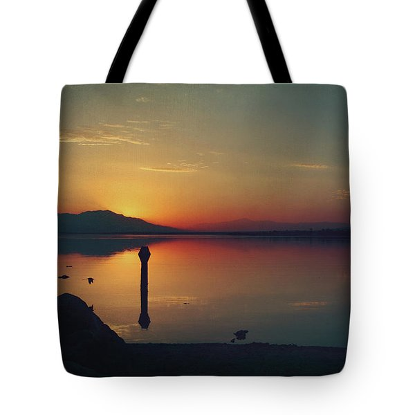 The End of Another Day Without You Tote Bag by Laurie Search