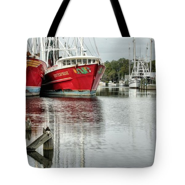 The Enterprise Tote Bag by JC Findley