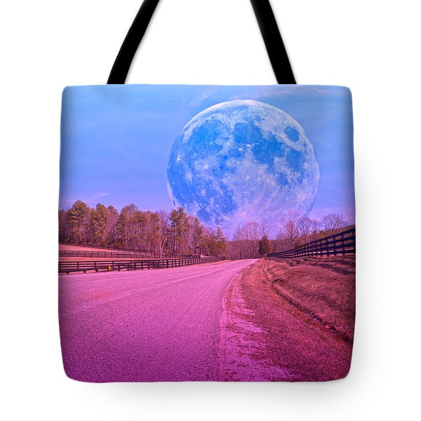 The Evening Begins Tote Bag by Betsy A  Cutler