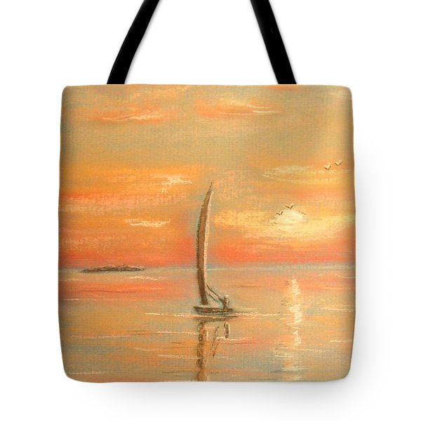 The Evening Light Tote Bag by The Beach  Dreamer