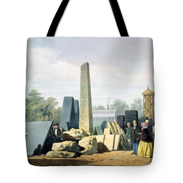 The Exterior, From Dickinsons Tote Bag by English School