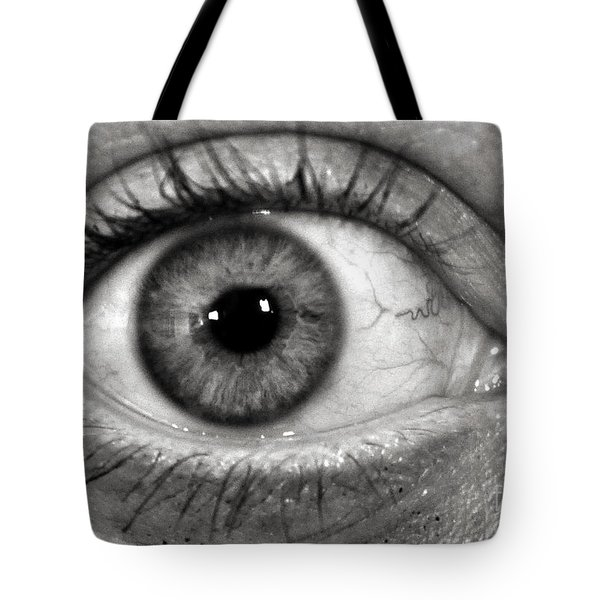The Eye Tote Bag by Luke Moore