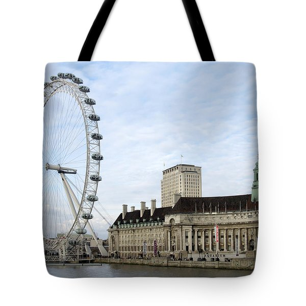 The Eye Tote Bag by Mike McGlothlen