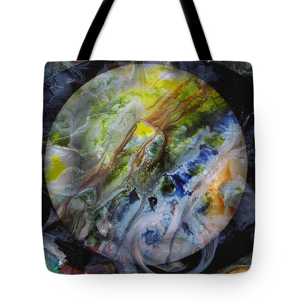 The Eye Of Silence Tote Bag by Otto Rapp