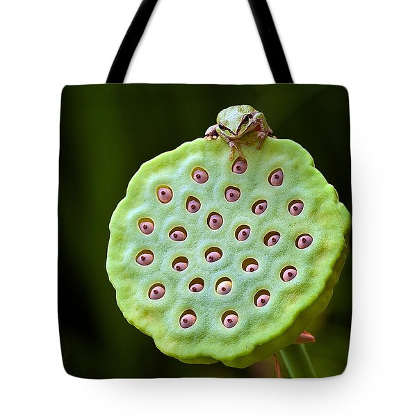 The eyes have it Tote Bag by Jean Noren