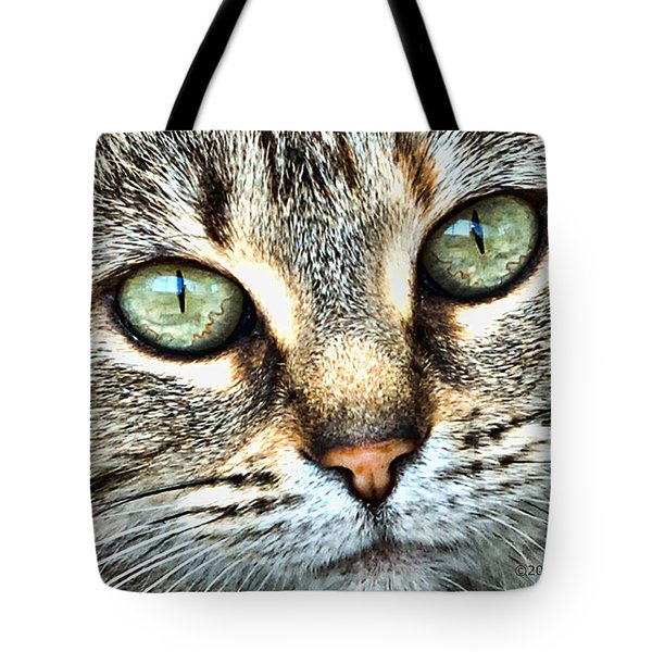 The Eyes Have It Tote Bag by Kenny Francis