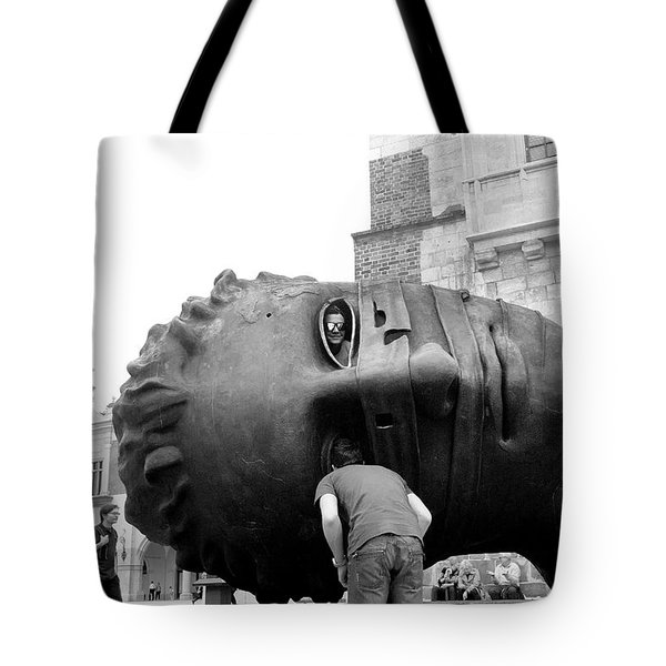 The Eyes Of Eros Tote Bag by Robert Lacy