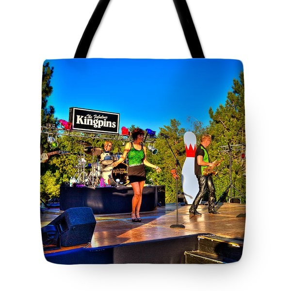 The Fabulous Kingpins Tote Bag by David Patterson