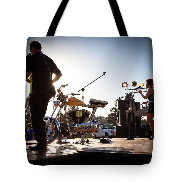 The Fabulous Kingpins - Pullman's 4th of July Celebration Tote Bag by David Patterson