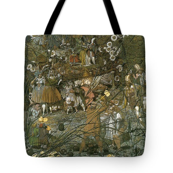 The Fairy Feller Master Stroke Tote Bag by Richard Dadd