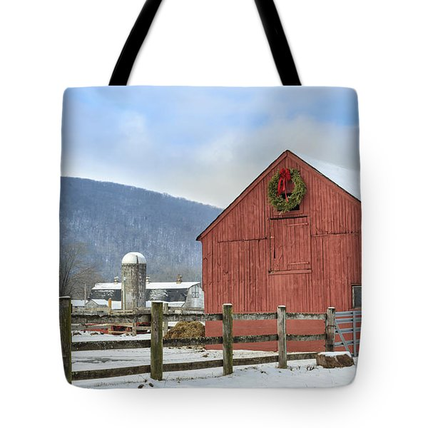 The Farm Tote Bag by Bill  Wakeley