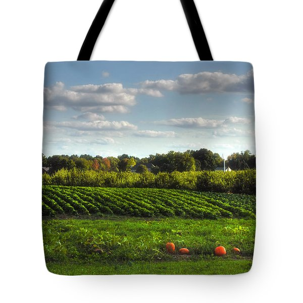The Farm Tote Bag by Joann Vitali
