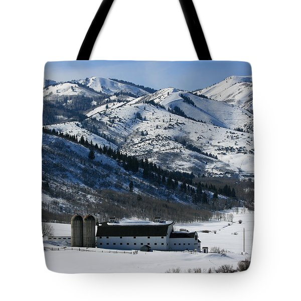 The Farm Tote Bag by Marty Fancy
