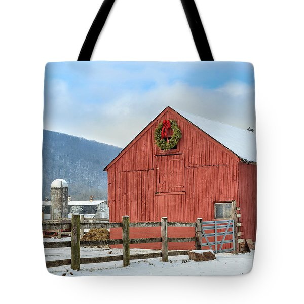 The Farm Square Tote Bag by Bill  Wakeley