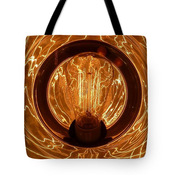 The Fire Within Tote Bag by Newel Hunter