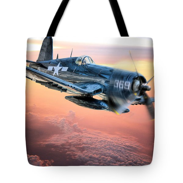 The Flight Home Tote Bag by JC Findley