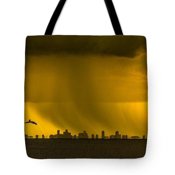 The Floating City  Tote Bag by Marvin Spates