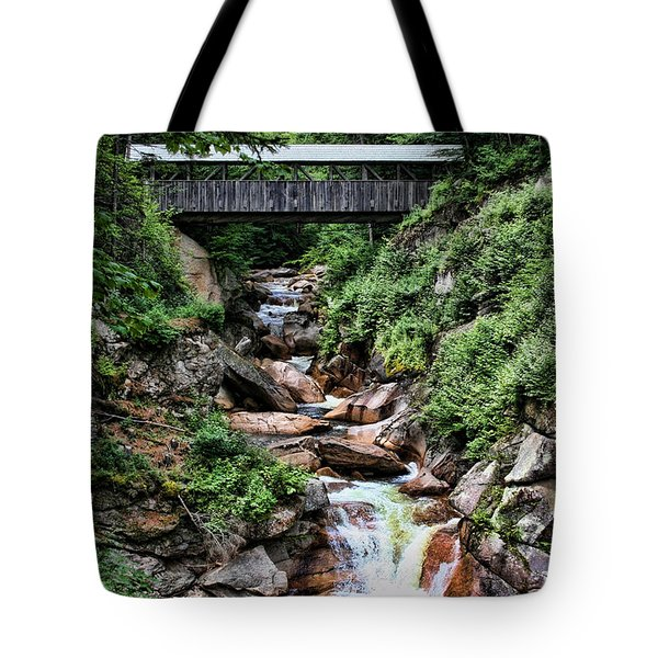 The Flume Tote Bag by Heather Applegate