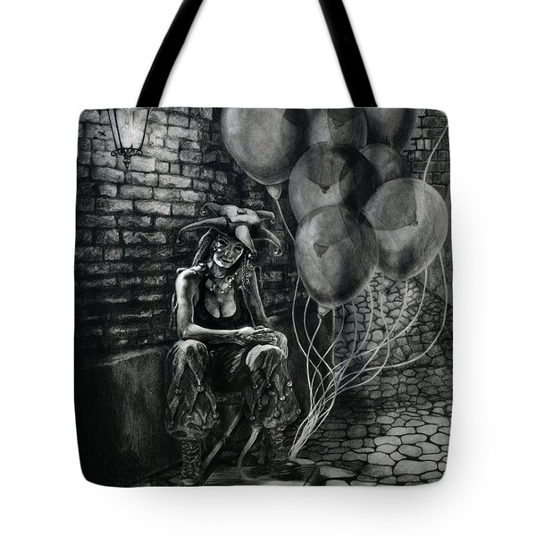The Fool Dreamer Drawing Tote Bag by Kd Neeley