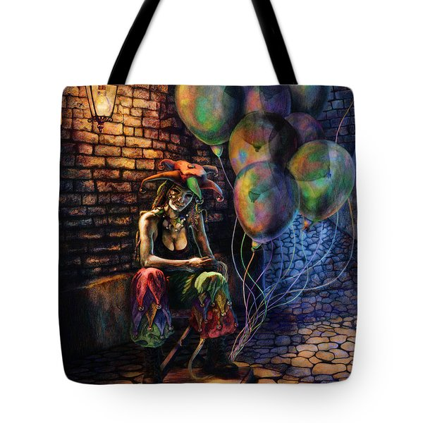 The Fool Dreamer Tote Bag by Kd Neeley