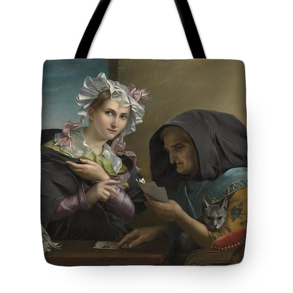 The Fortune Teller Tote Bag by Adele Kindt