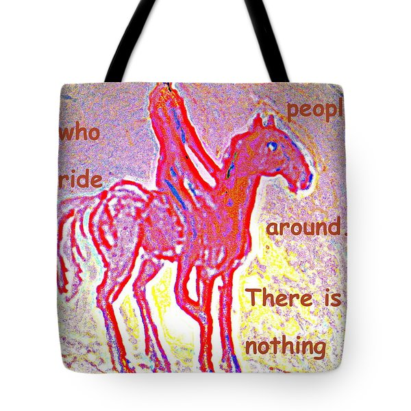 The four eyed troll  Tote Bag by Hilde Widerberg