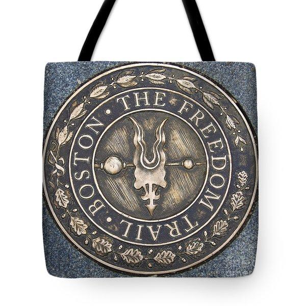 The Freedom Trail Tote Bag by Charles Dobbs